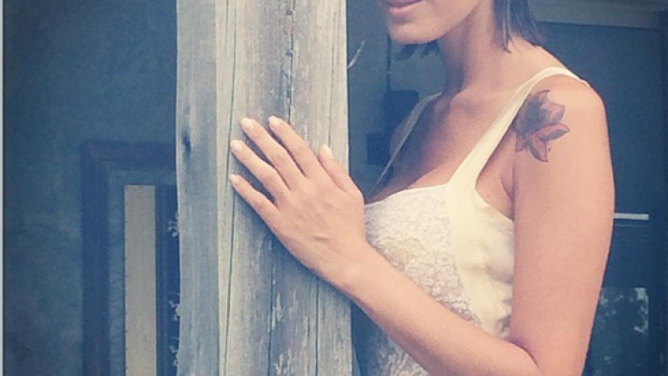 Silvina Luna, híper sensual y femenina en una imperdible producción de fotos. (Instagram)