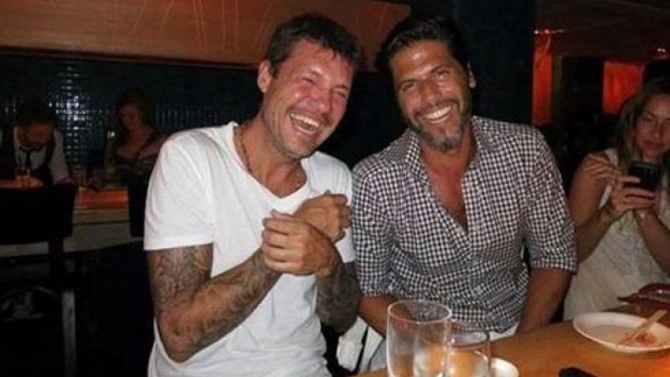 Marcelo Tinelli y Federico Ribero (Foto: Web)