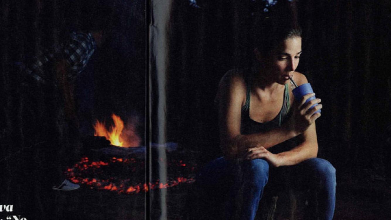 Juana Viale, en el Impenetrable chaqueño. (Foto: Rubén Digilio - revista Viva)
