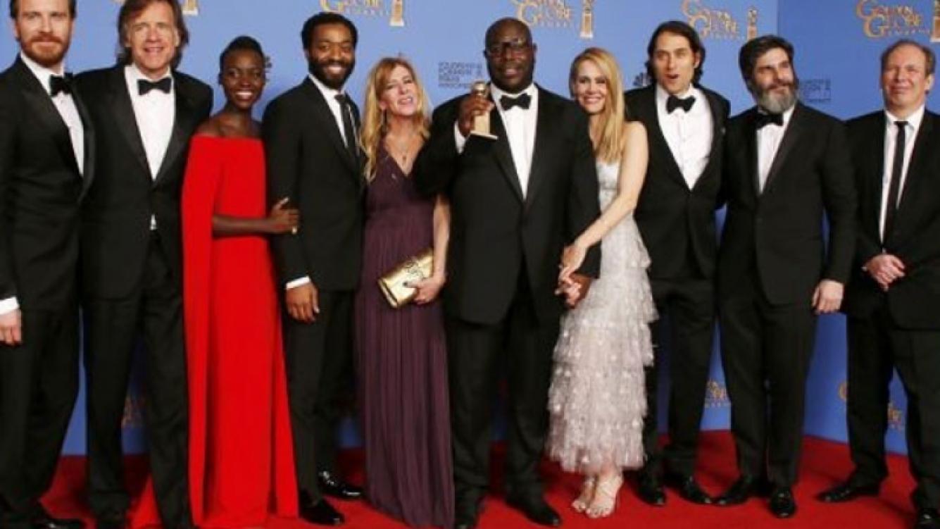 El elenco de   12 años de esclavitud  . (Foto: Reuters)