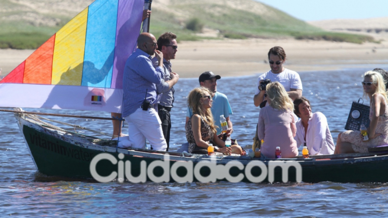 Paris Hilton en Punta del Este. (Foto: TMPress)