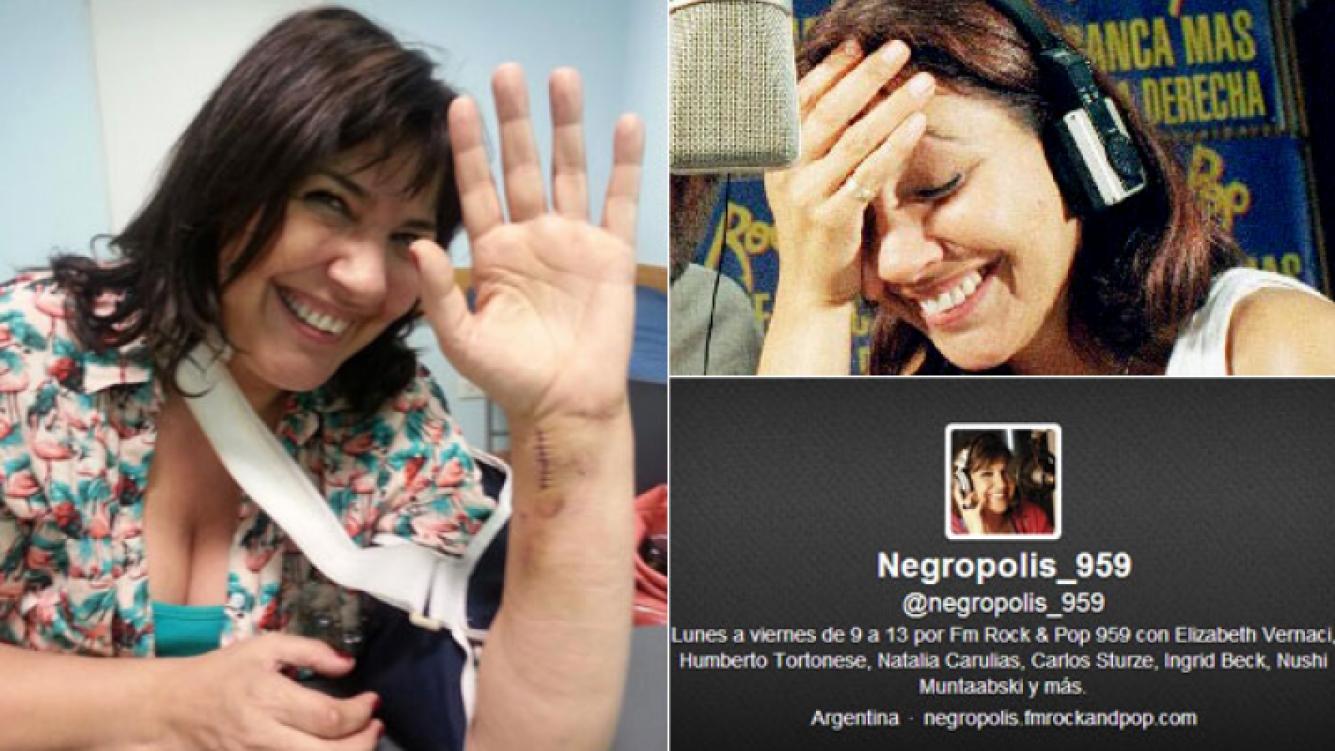 La Negra Vernaci, 100% auténtica (Fotos: Twitter y Web)