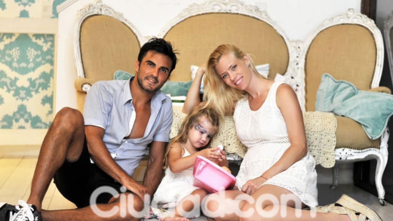 Nicole Neumann y Poroto Cubero esperan otra nena (Foto: Archivo - Gentileza Christian Ariel Molina).