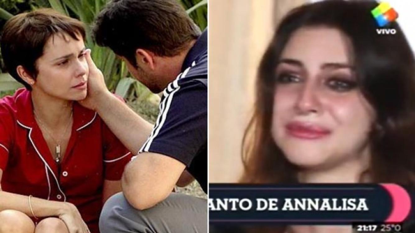 Izq: Avenida Brasil se adueñó del rating. Der: Annalisa Santi busca un lugar en el medio a puro escándalo. (Fotos: archivo Web y captura América)