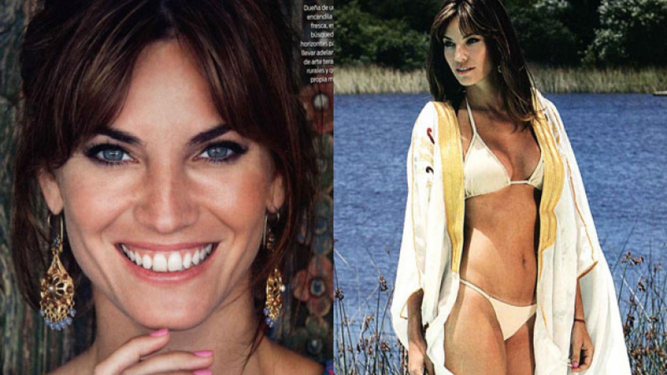 Florencia Fabiano, diosa en la producción de fotos (Fotos: ¡Hola! Argentina).