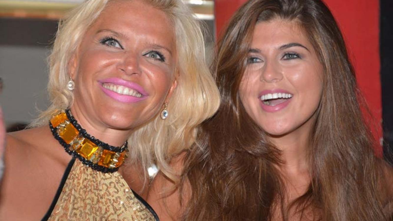 Nazarena Vélez y Mariana Antoniale. (FotoVito Callejon)