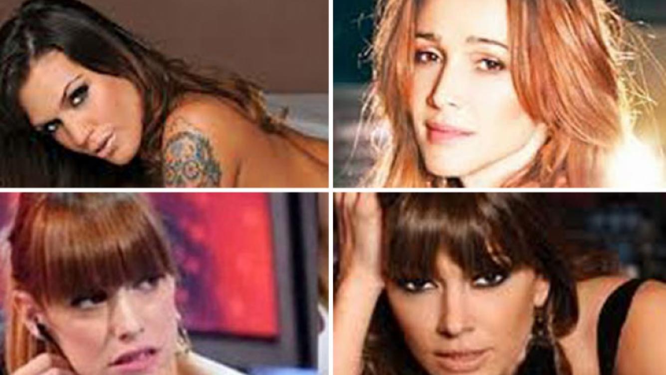 La reacción de las famosas en Twitter, tras el escándalo. (Fotos: Web y Ciudad.com)