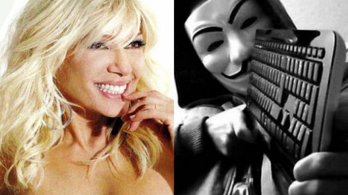 Catherine Fulop le habló por radio al famoso hacker (Fotos: Web).