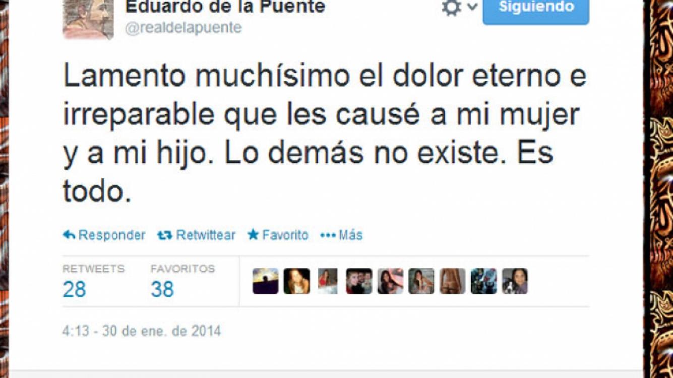 El mensaje de Eduardo de la Puente para su familia (Foto: Captura de pantalla).