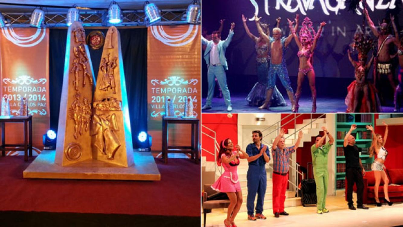Se entregaron los Premios Carlos a lo mejor de la temporada teatral 2014 en Carlos Paz. (Foto: Web)