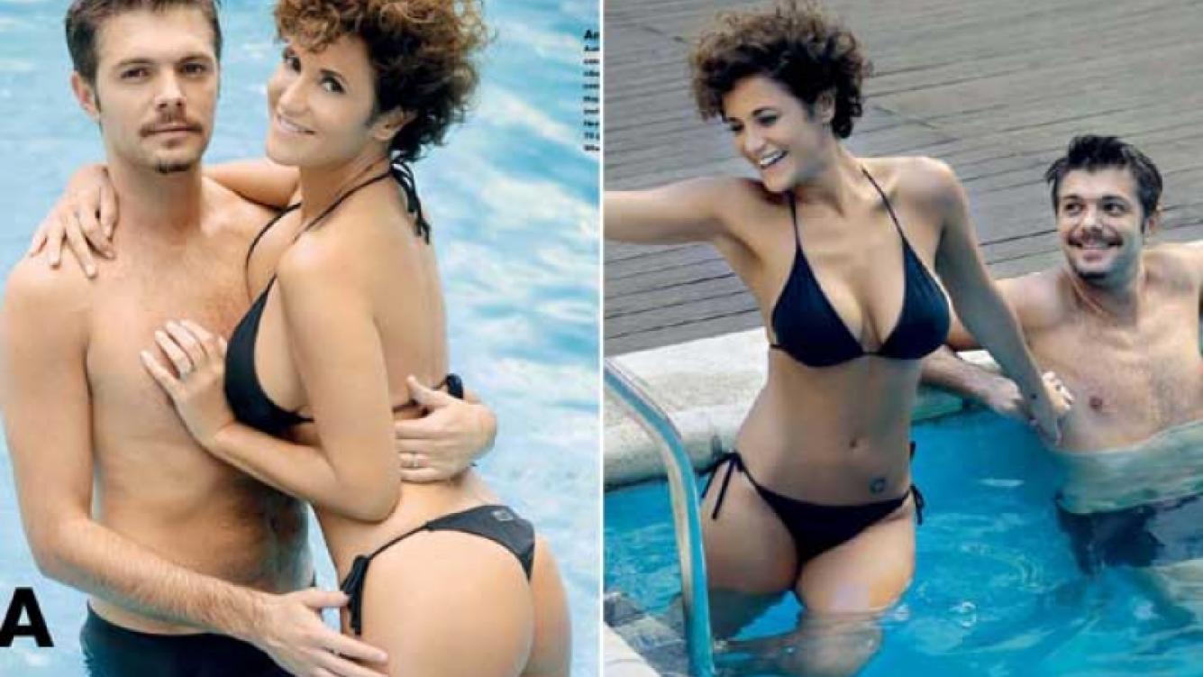 El tiempo no pasa: las fotos sexies de María Fernanda Callejón. (Foto: revista Gente)