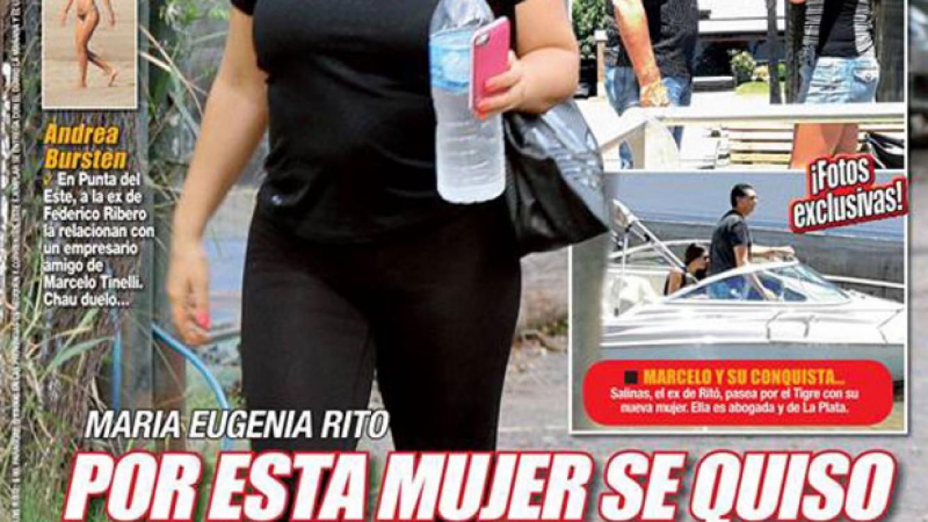 La tapa de Paparazzi: el ex de Ritó con otra mujer.