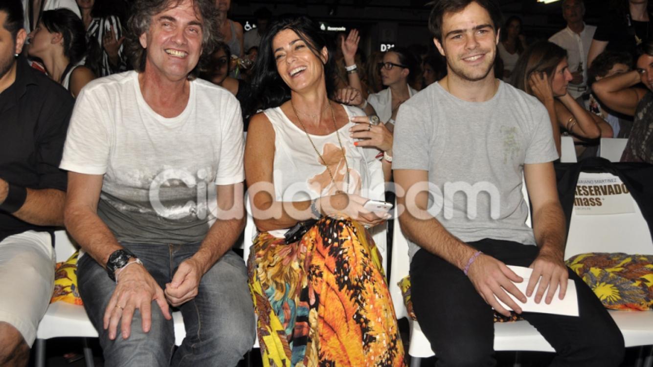 Peter Lanzani alentó a Martina desde el público (Fotos: Jennifer Rubio).