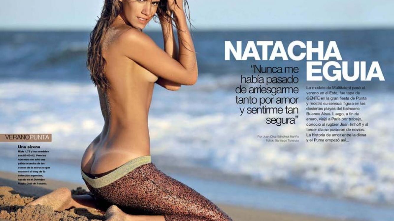 Natacha Eguía, la modelo que enamoró al