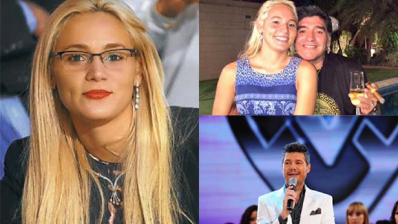 Rocío Oliva, entre el casamiento con Diego y el Bailando (Fotos: Web).