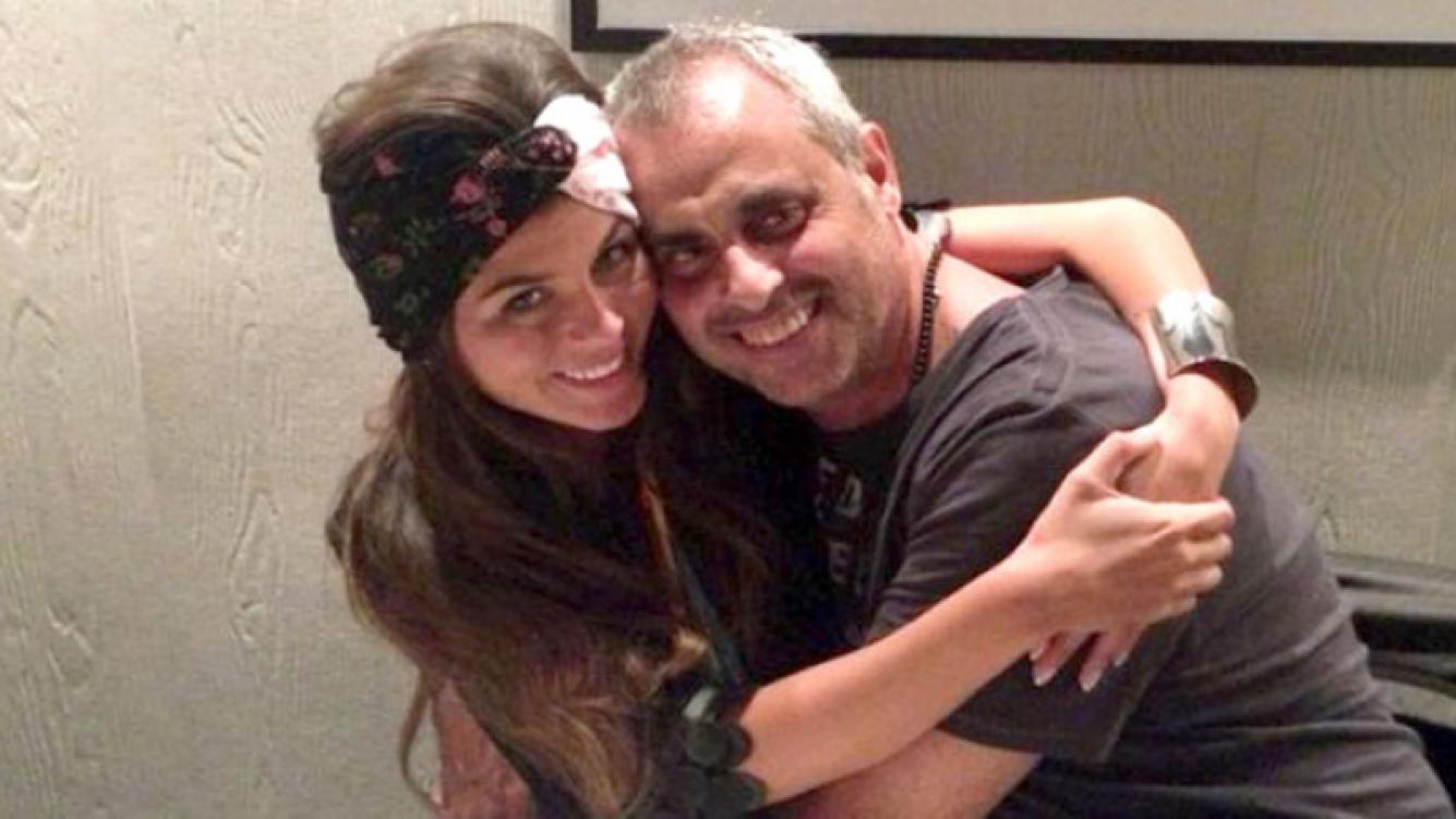 Jorge Rial negó que Loly esté embarazada. (Fotos: Web y Ciudad.com)