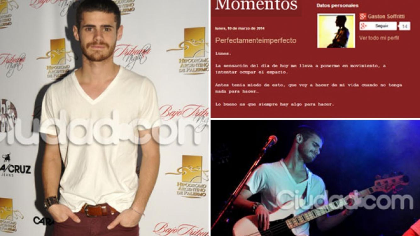 El inédito perfil poeta de Gastón Soffritti, (Fotos: Ciudad.com)
