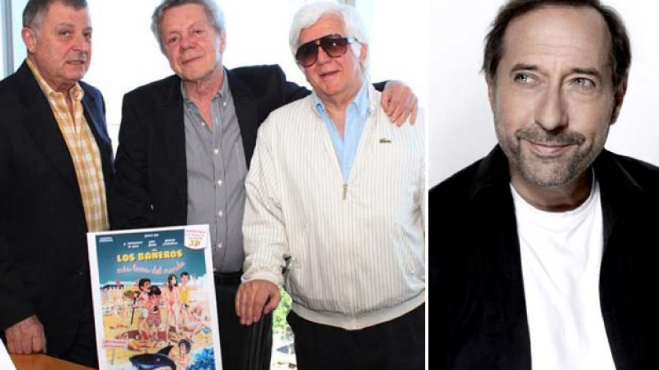 Paco Fernández de Rosa, Emilio Disi y Gino Renni harán Los Bañeros 4, sin Guillermo Francella. (Foto: Web)