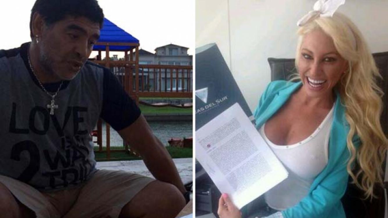 Vicky Xipolitakis y un supuesto encuentro hot con Maradona.
