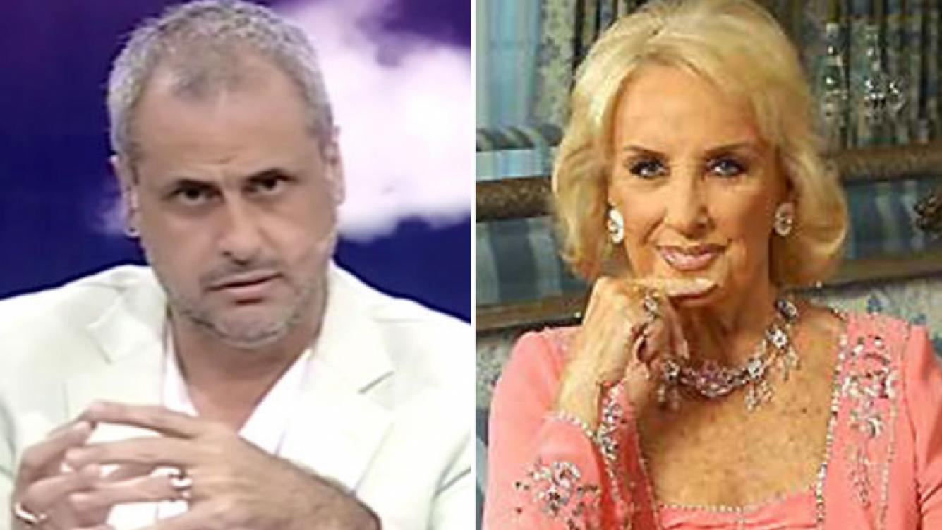 Jorge Rial, duro contra Mirtha Legrand. (Fotos: Web)