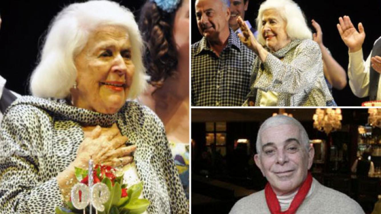 El estado de salud de China Zorrilla, en su cumpleaños 92. (Fotos: Ciudad.com y Web)