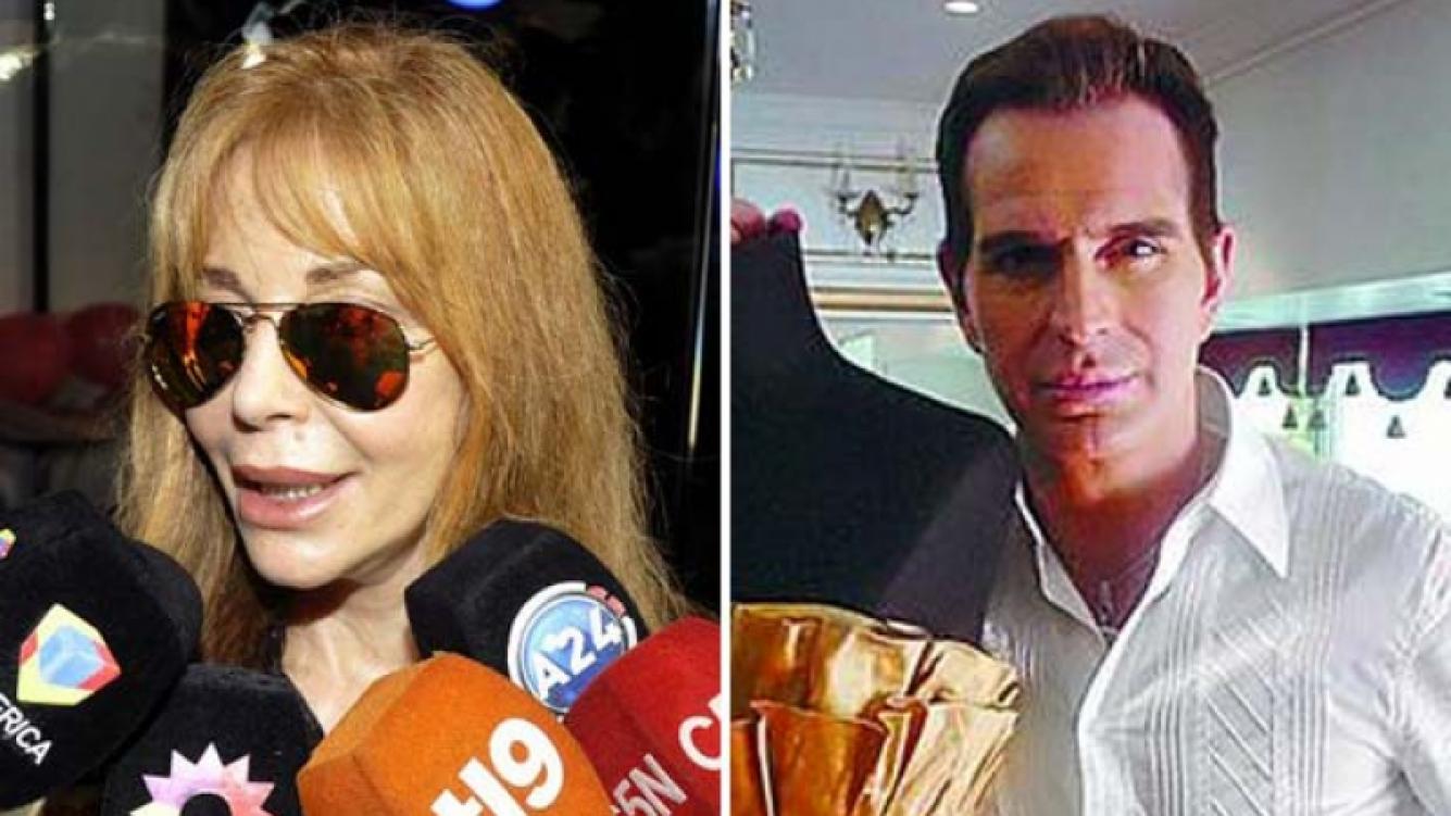 Graciela Alfano negó haber realizado un escándalo en el velatorio de Jorge Ibáñez. (Foto: web)