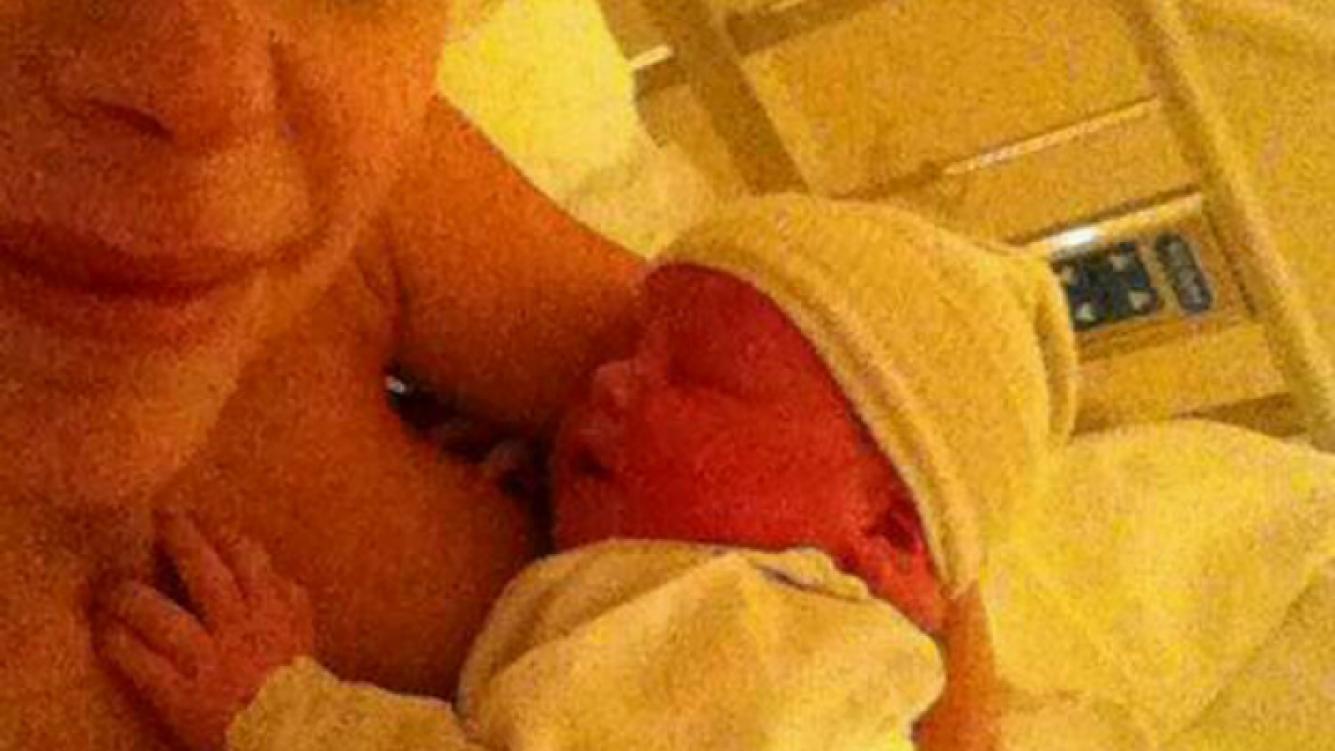 Jimena Cyrulnik fue mamá por segunda vez. (Foto: Twitter)