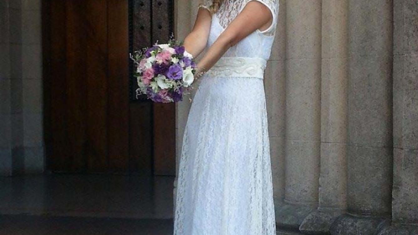 Cecilia Ruffa se casó con Emiliano Fernandes Delgado. (Foto: Facebook)