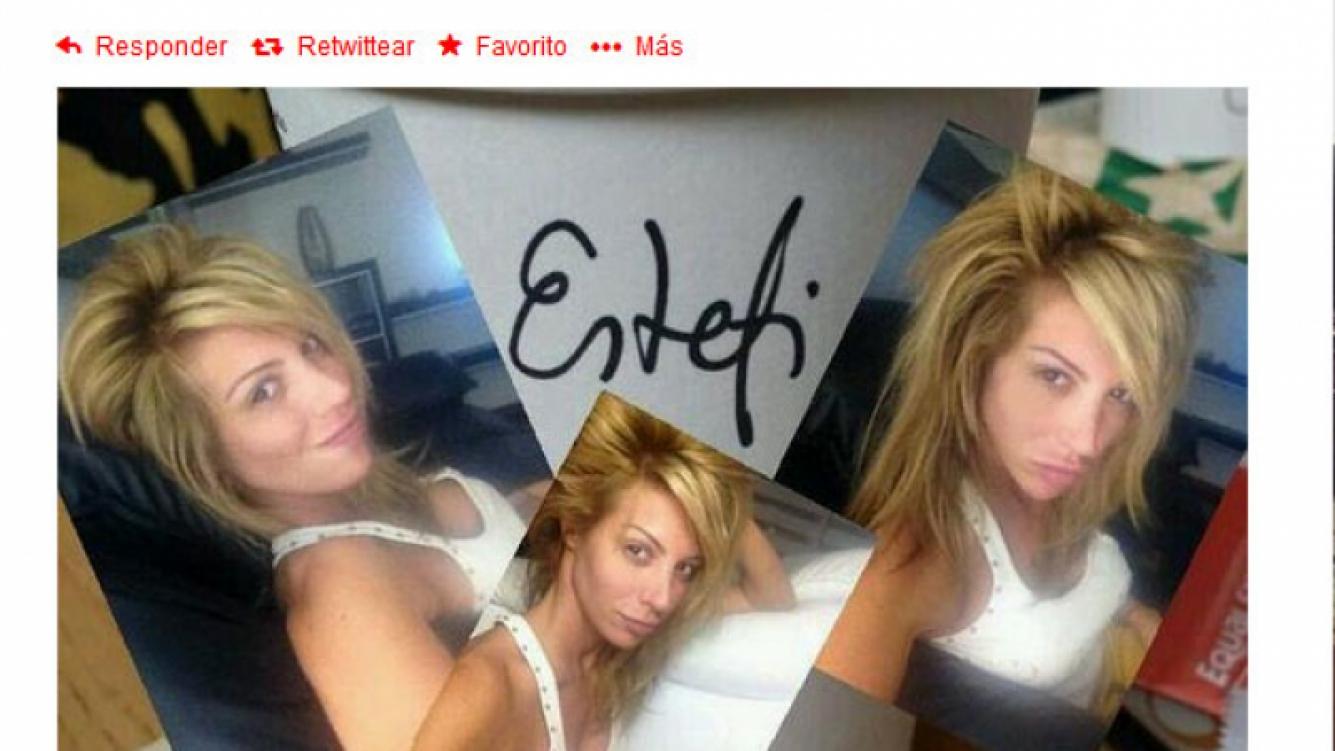 Stefi Xipolitakis sin maquillaje. (Foto: Twitter)