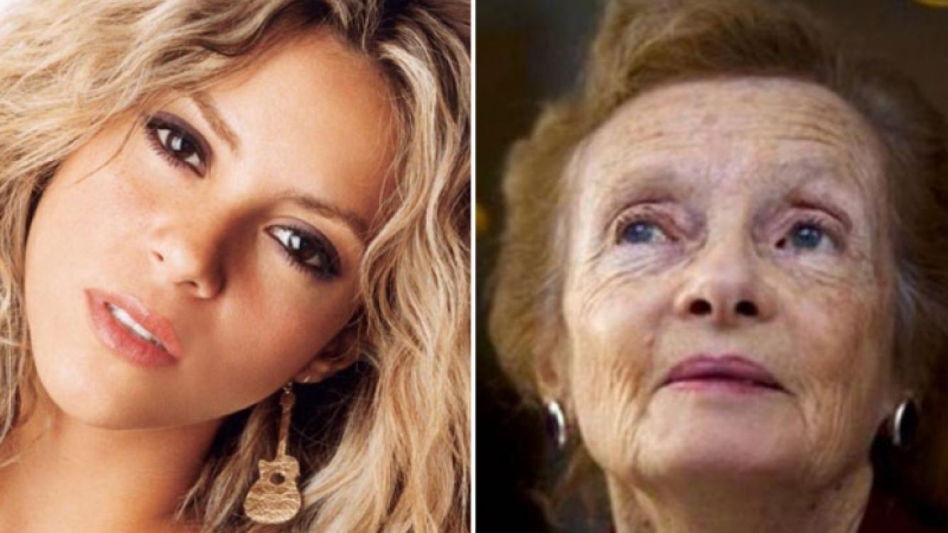 Shakira y Lilian Clark. (Fotos: Web)