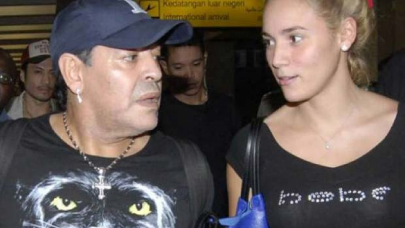 Diego Maradona denunciará penalmente a Rocío Oliva por robo. (Foto: Web)