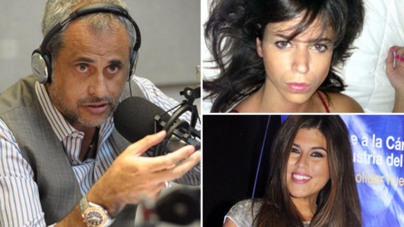 Jorge Rial, Marianela Mirra y Loly Antoniale. (Fotos: Twitter y Ciudad.com)