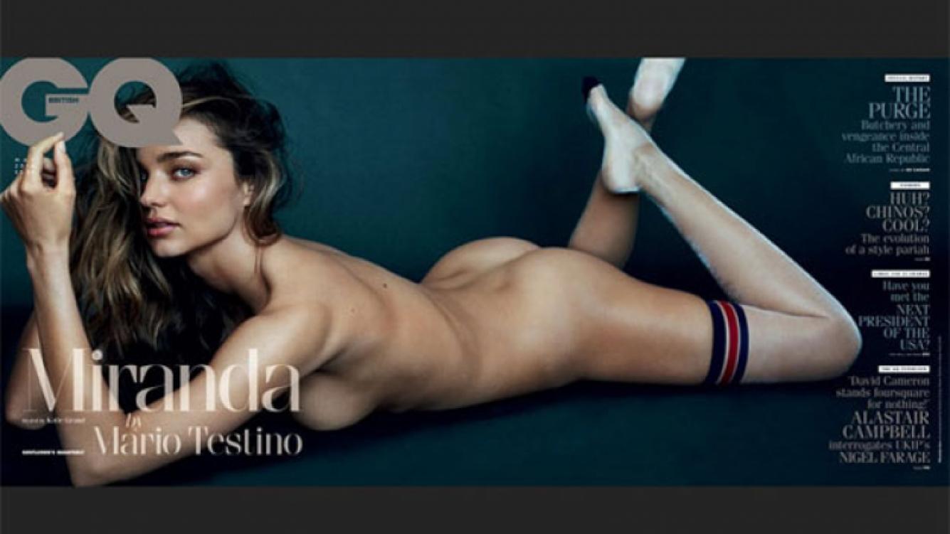 Miranda Kerr se desnudó para GQ y se muestra dispuesta a descubrir su bisexualidad. (Foto: Revista GQ)