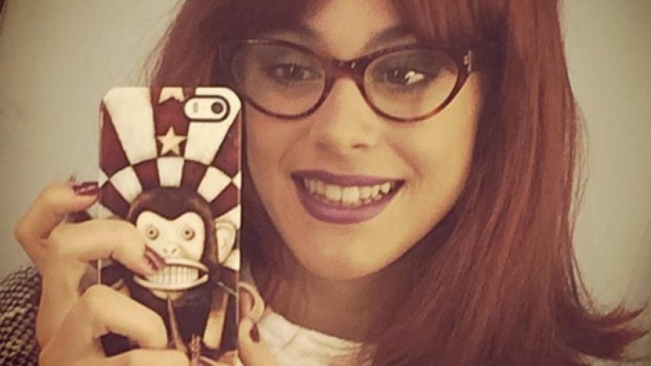 Violetta, pelirroja. (Foto: Instagram)