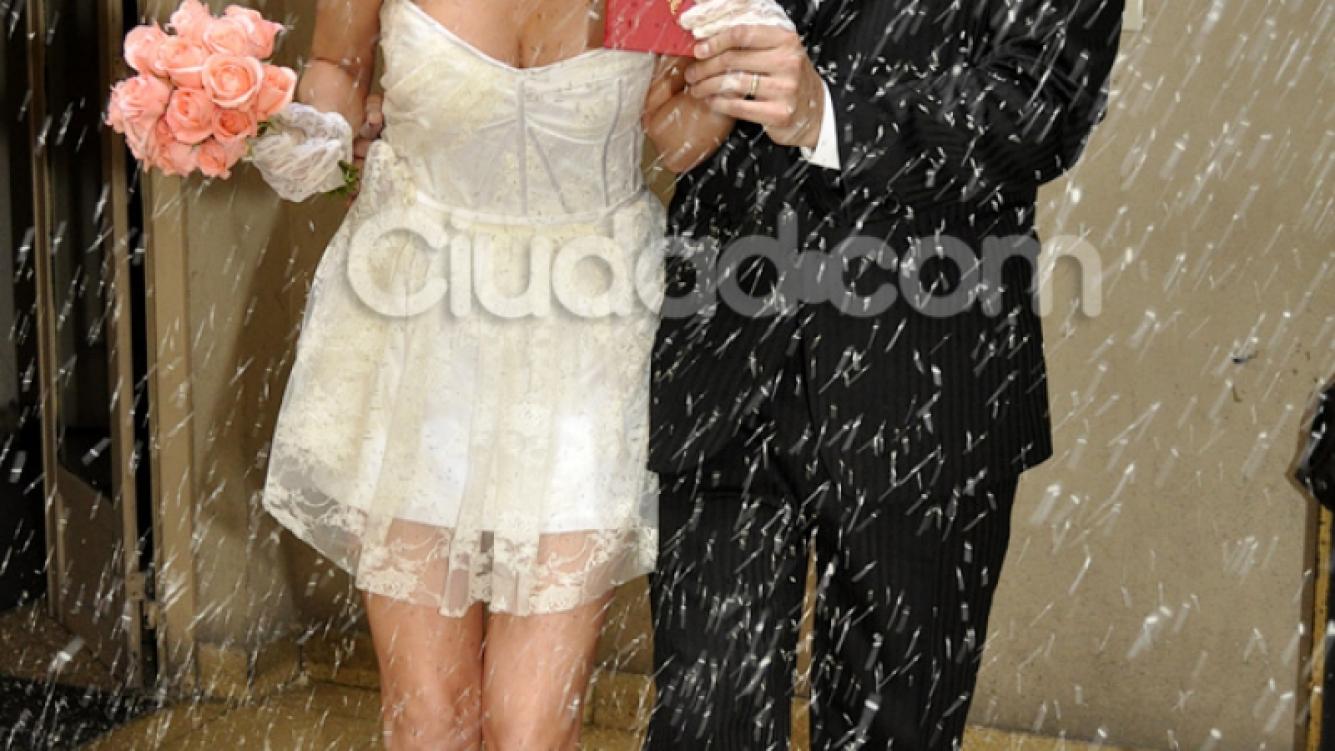 Vanesa Carbone se casó con el cantante