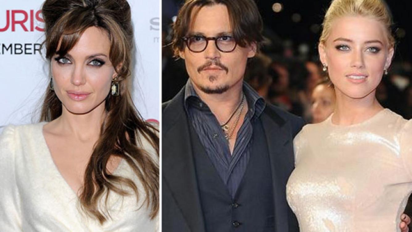 """Angelina Jolie le pide a Johnny Depp que no se case con su novia """"cazafortunas"""", pero él… (Foto: Web)"""