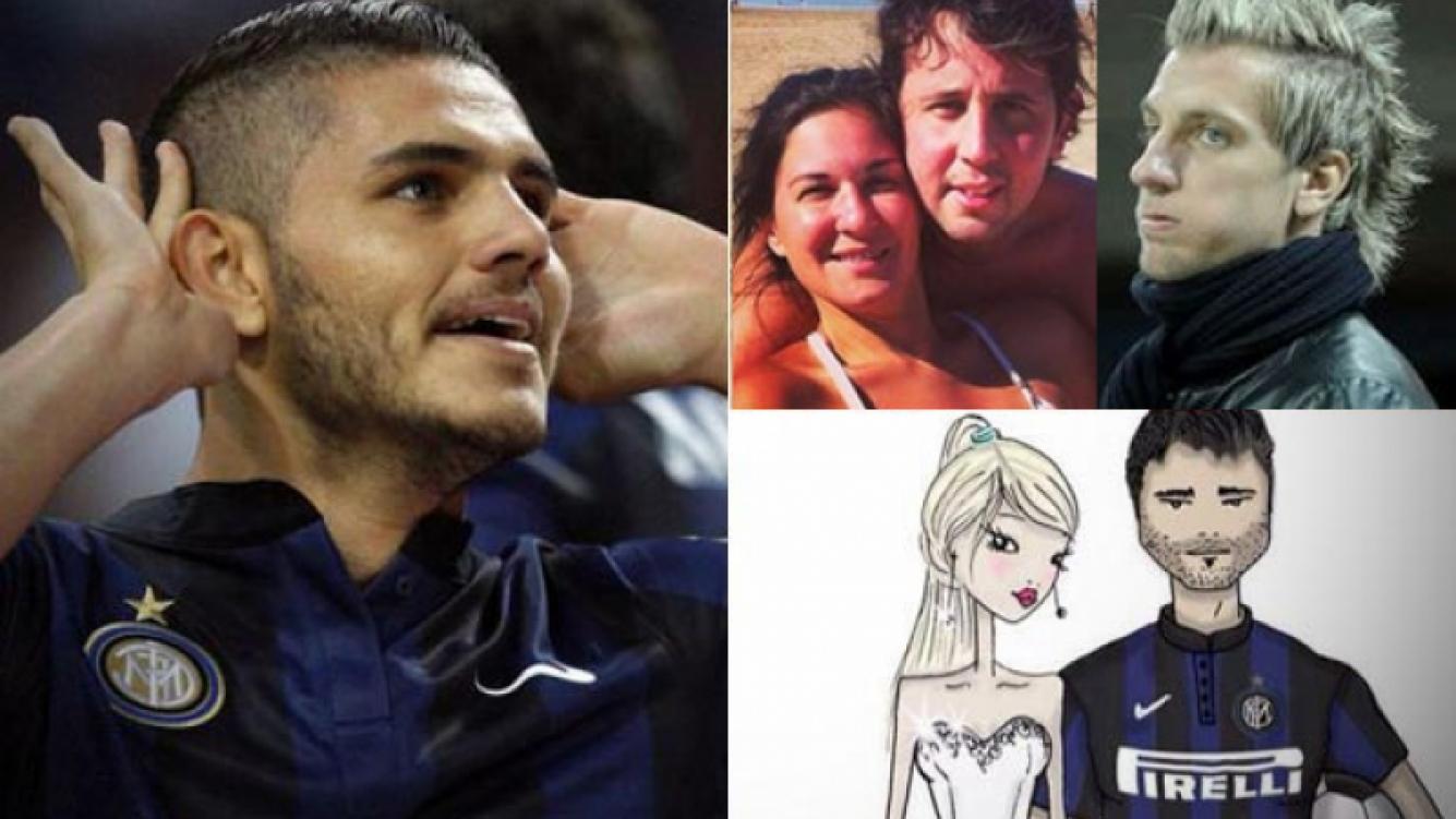 Mauro Icardi, muy picante con una pareja ex amiga de Wanda Nara. (Fotos: archivo Web)