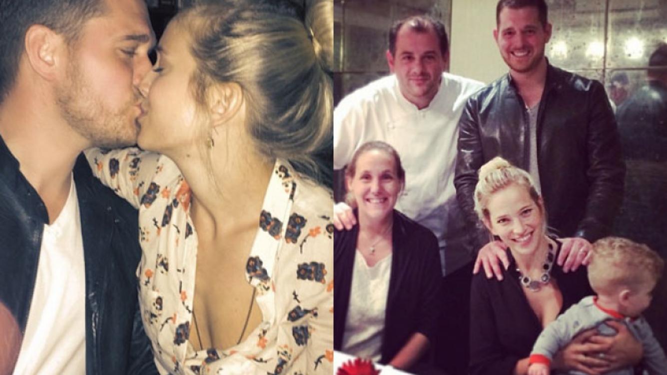 Luisana Lopilato y Michael Bublé festejaron su aniversario con todo (Fotos: Instagram).