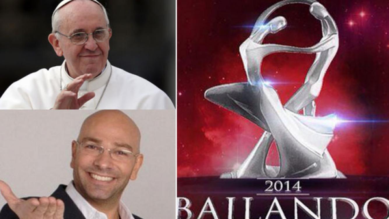 """Adelanto del Gran Bailando: El Papa """"bailará"""" con Marcelo Tinelli."""