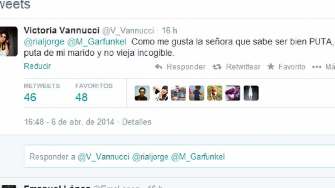 Un nuevo round entre la Negra Vernaci y Vannucci por su salida de la radio (Fotos: Web).
