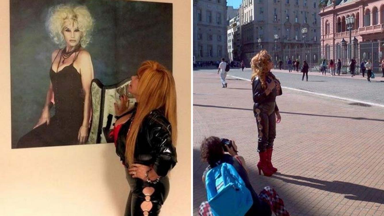 La Tigresa del Oriente realizó una producción de fotos en la Casa Rosada. (Foto: Facebook.com/LaTigresaDelOrienteOficial)