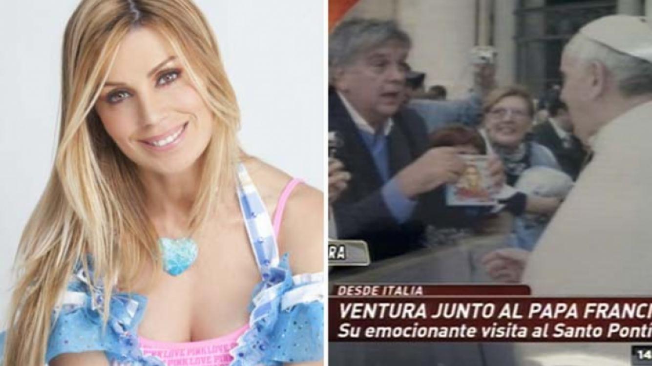 """Laura Franco """"Panam"""", emocionada con el gesto de Luis Ventura y el Papa Francisco. (Foto: Web)"""
