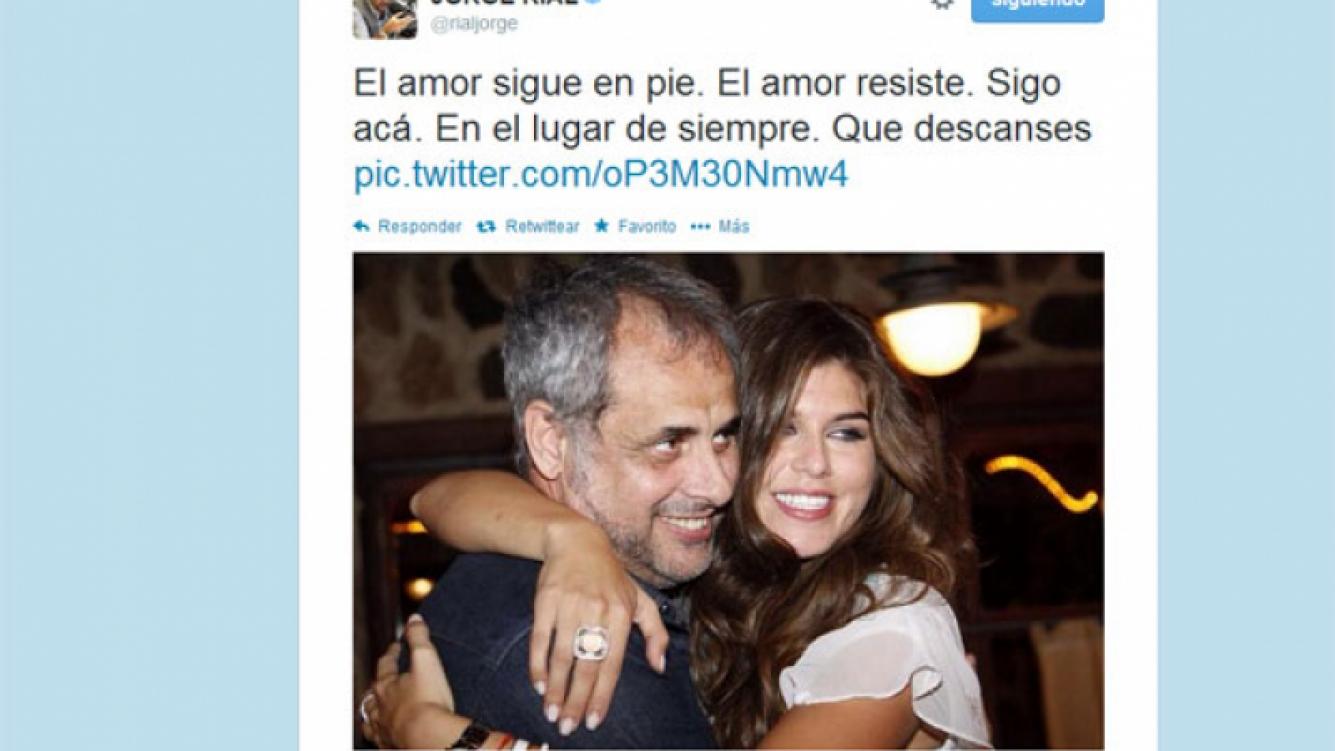 Jorge Rial sigue tratando de reconquistar a Loly Antoniale (Foto: Twitter).