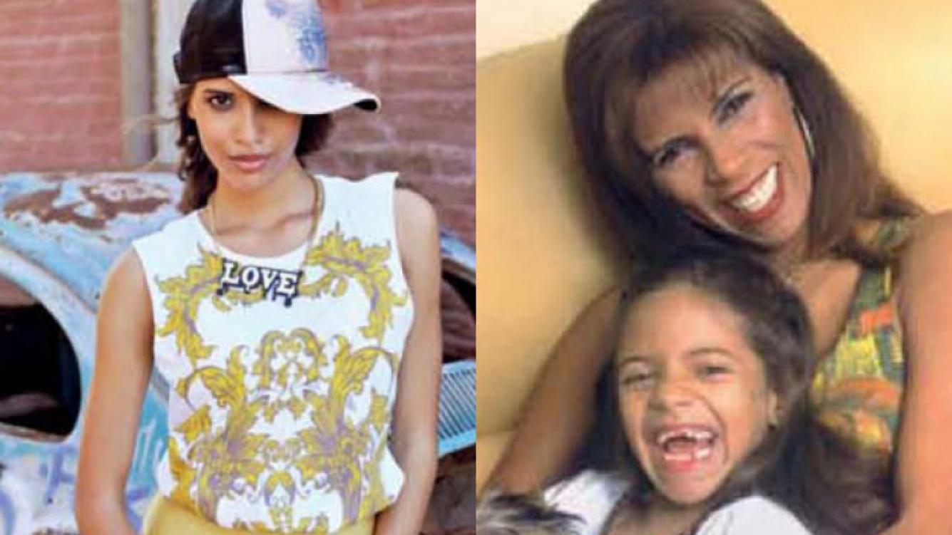 Taína, la hija modelo de Anamá Ferreira, una morocha explosiva (Fotos: Gente).