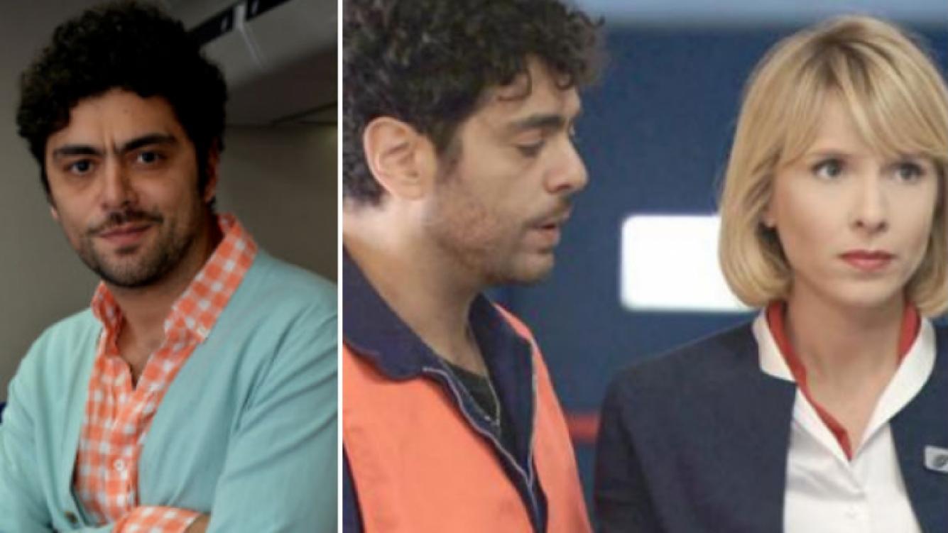 Alberto Ajaka es Donofrio en Guapas, junto a Carla Peterson. (Fotos: Prensa El Trece)