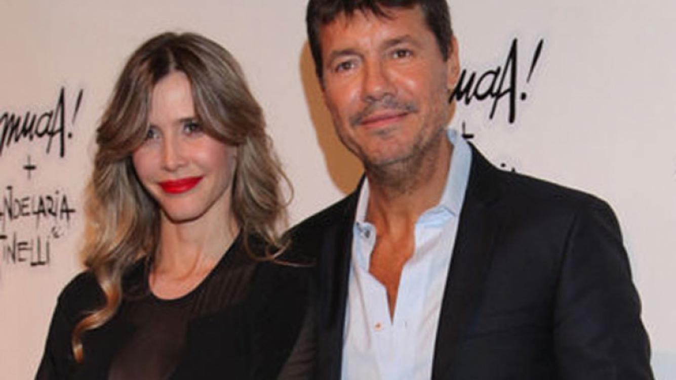Marcelo Tinelli y Guillermina Valdés fueron papás (Foto: Web).
