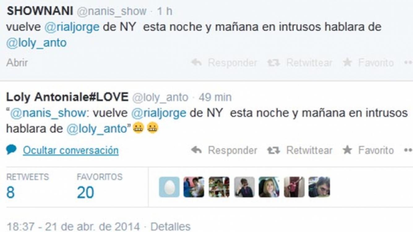La respuesta de Loly al anuncio de Rial.