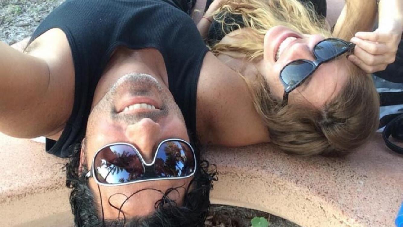 Mónica Ayos, feliz en Miami. (Foto: Twitter)