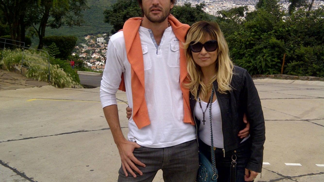 Marcela Tauro y su novio José Luis, en Salta. (Foto: álbum personal Marcela Tauro)