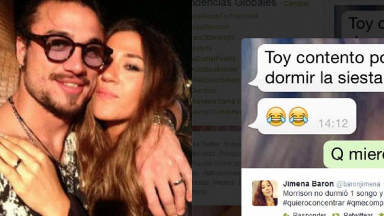 El divertido reclamo de Jimena Barón en Twitter. (Fotos: Web y Twitter)